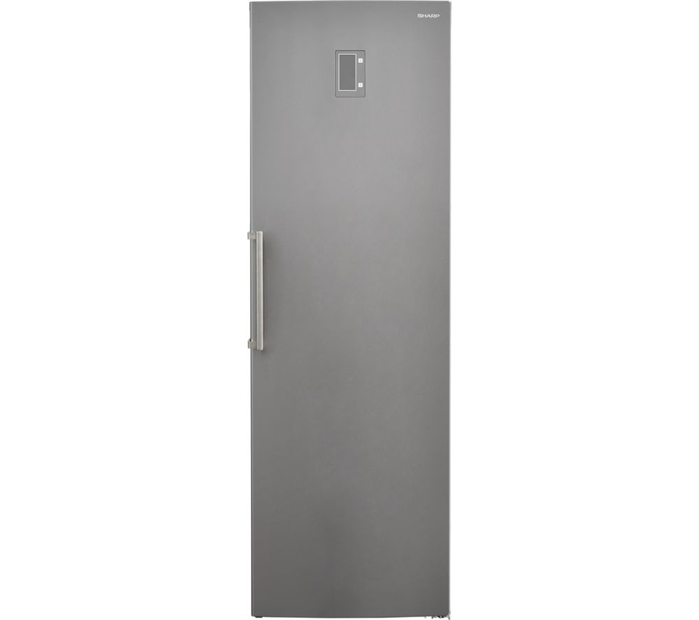 SHARP SJ-S2251E0I Tall Freezer - Stainless Steel