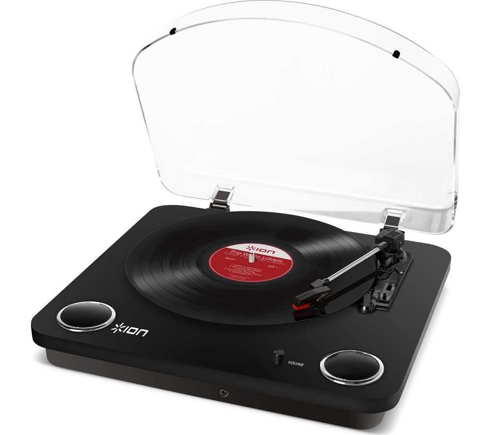 ION Max LP Belt Drive Turntable - Black