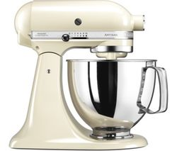 KITCHENAID 5KSM125BAC Artisan Tilt-Head Stand Mixer - Almond Cream