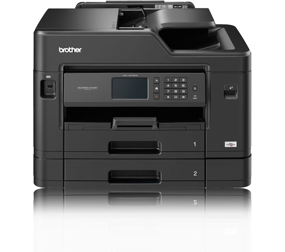 Image of BROTHER MFCJ5730DW All-in-One Wireless A3 Inkjet Printer with Fax