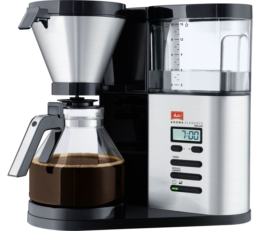 Compare retail prices of Melitta AromaElegance Deluxe Filter Coffee Machine to get the best deal online