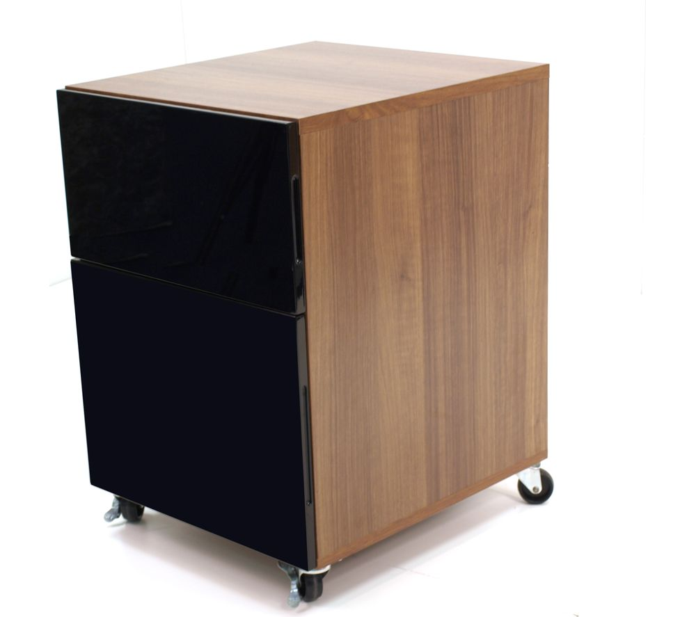 ALPHASON Juo Pedestal - Black Walnut