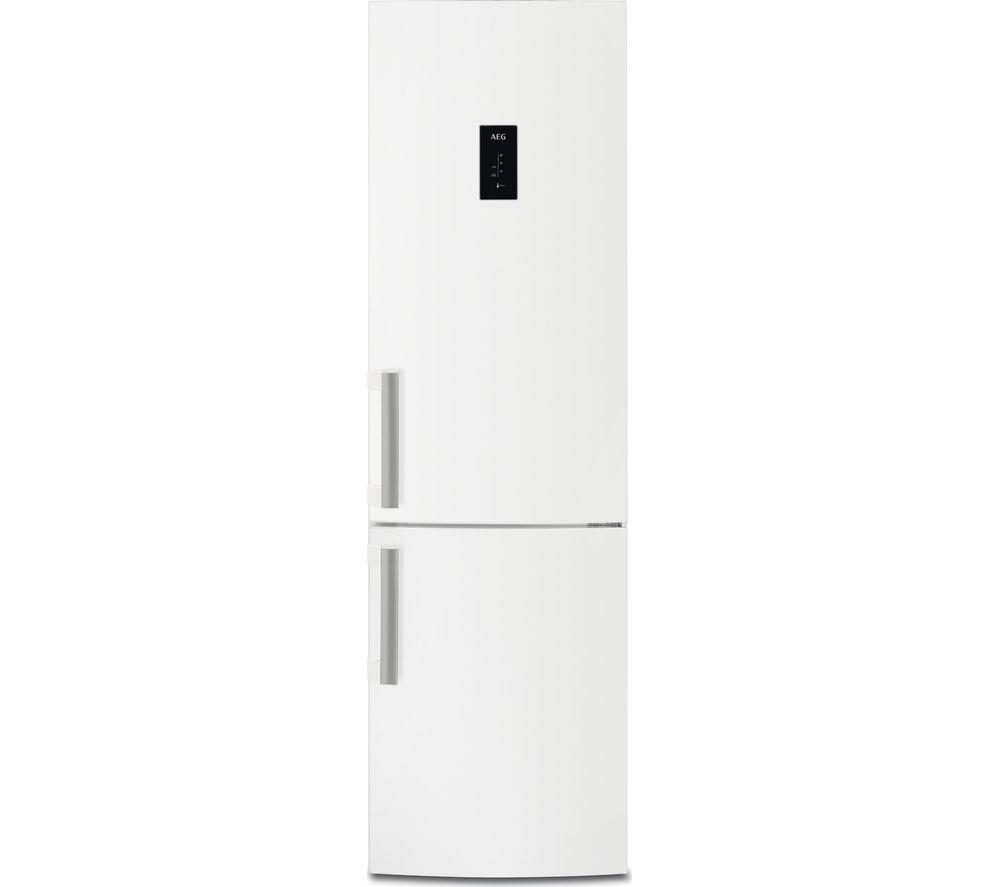 Image of AEG RCB53324MW 60/40 Fridge Freezer - Gloss White, White