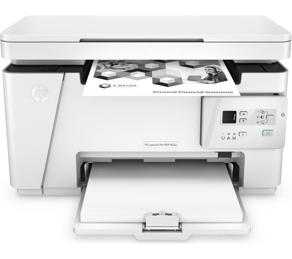 HP LaserJet Pro M26A Monochrome All-in-One Printer