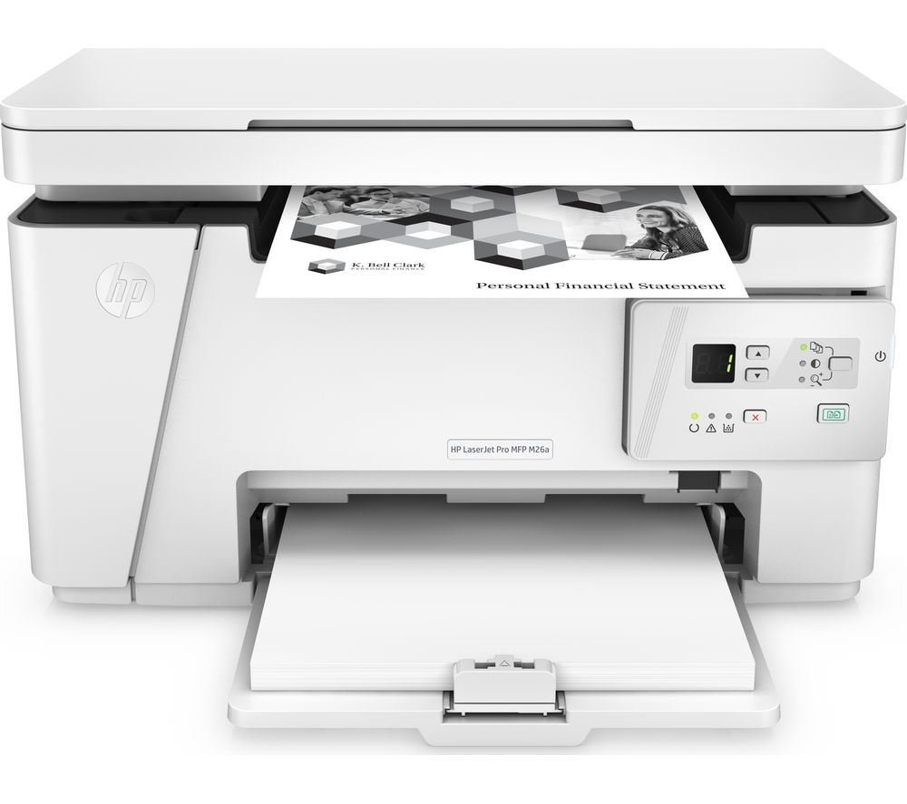 HP LaserJet Pro M26A Monochrome All-in-One Printer