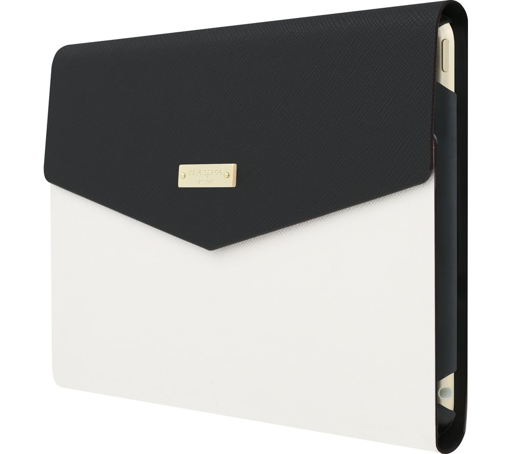 KATE SPADE New York iPad Mini 4 Envelope Folio Case - Black & White
