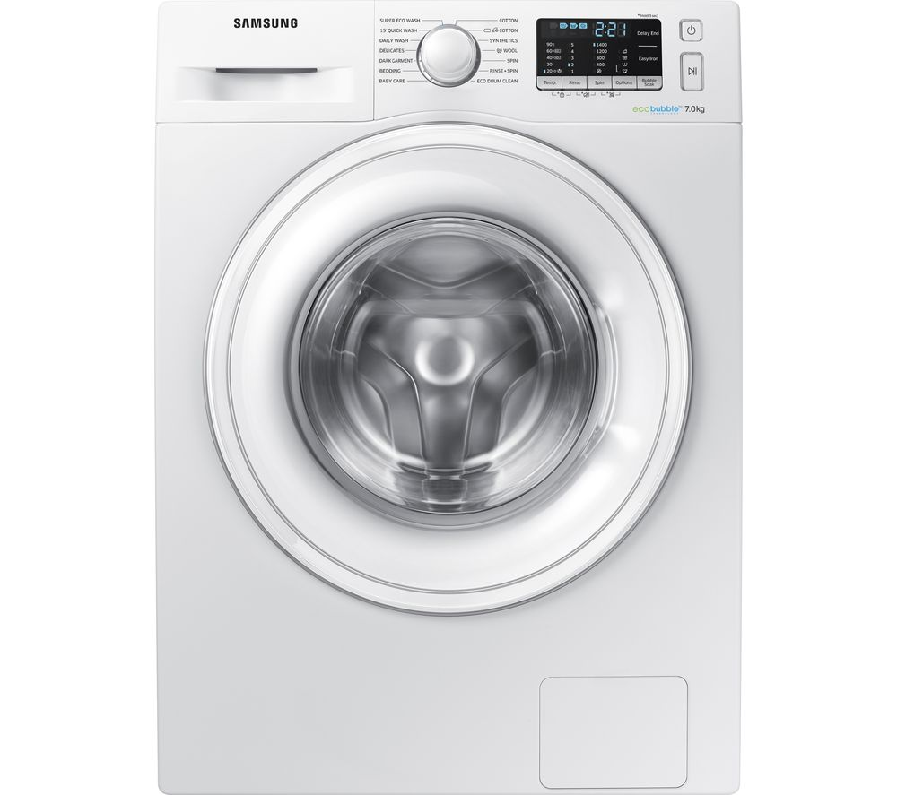 SAMSUNG WW70J5555DW/EU 7 kg 1400 Spin Washing Machine - White