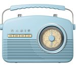 AKAI Portable Analogue Retro Radio - Duck Egg