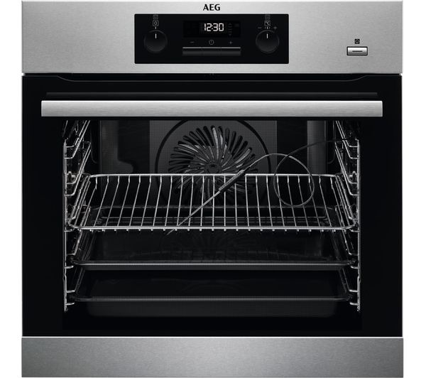 Image of AEG BES352010M SteamBake Electric Oven - Stainless Steel