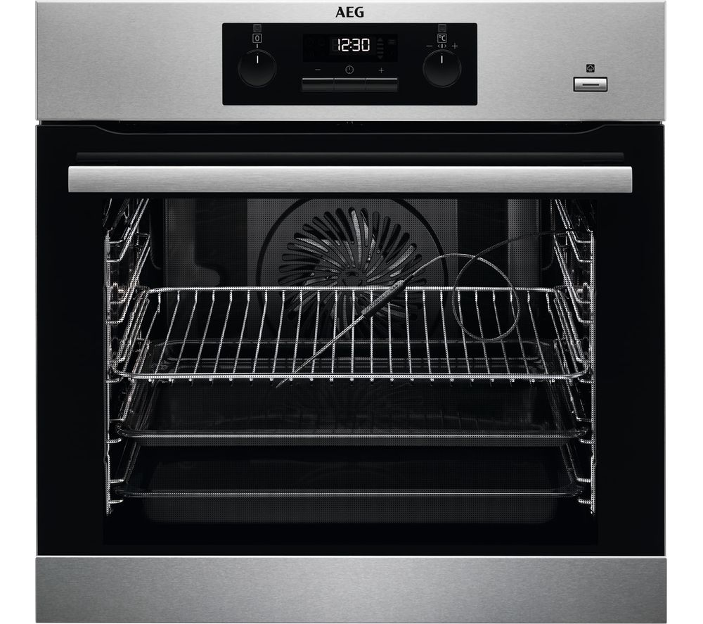 AEG BES352010M Electric Oven - Stainless Steel, Stainless Steel