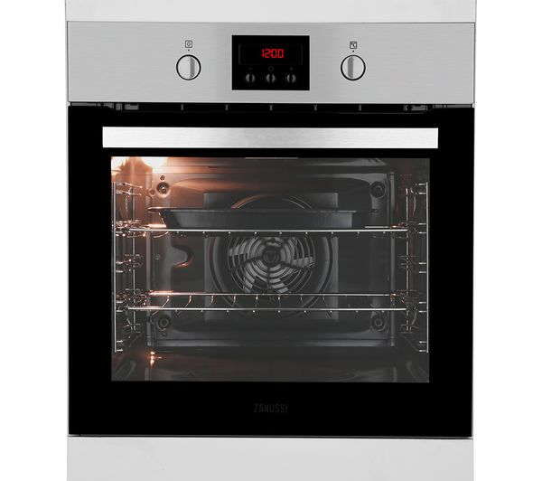 Buy Zanussi Zop37987xk Electric Oven Stainless Steel Free