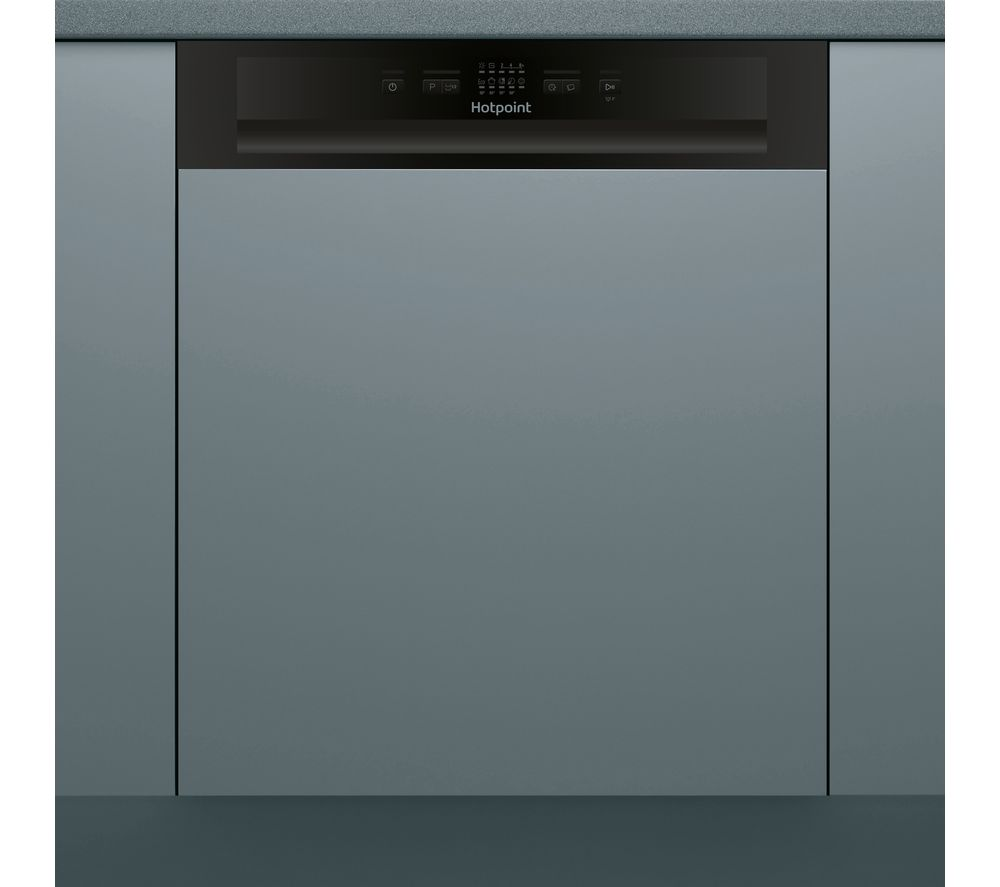 HOTPOINT HBC 2B19 Full-size Semi-Integrated Dishwasher