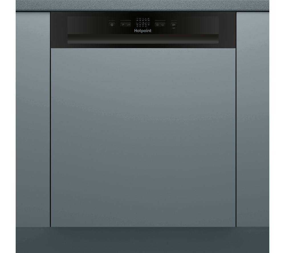 Hotpoint Hbc 2b19 Full Size Semi Integrated Dishwasher