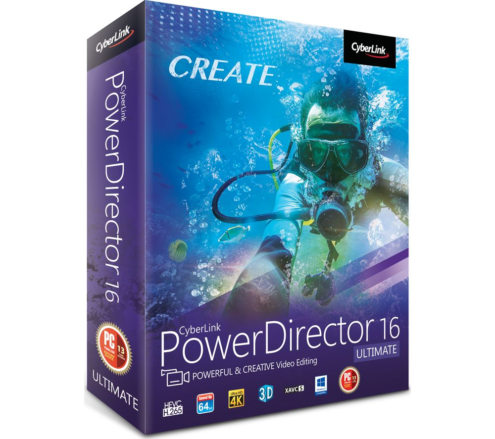 Compare retail prices of Cyberlink PowerDirector 16 Ultimate to get the best deal online