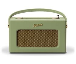 ROBERTS Revival RD70L Portable DAB+/FM Retro Bluetooth Clock Radio - Green