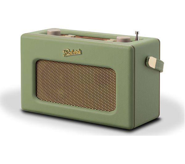 Green Leaf Revival Retro Bluetooth Portable fm Radio Rd70 Dab Roberts vg7Ybyf6