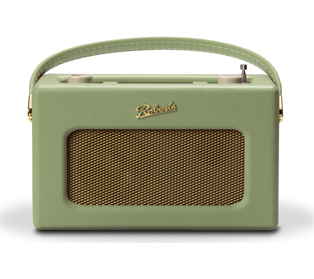 Compare prices for Roberts Revival RD70L Portable DAB Retro Bluetooth Clock Radio - Green