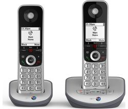 BT Advanced 1Z Cordless Phone - Twin Handsets