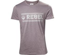 STAR WARS Rogue One Rebel Alliance T-Shirt - Medium, Grey