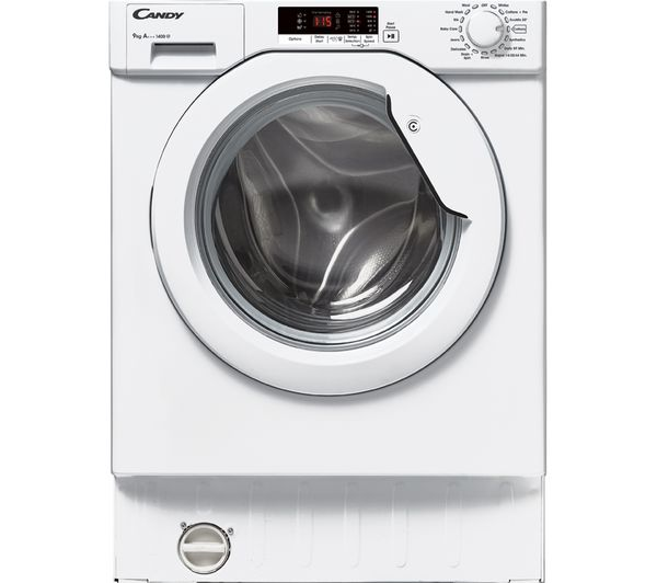 Image of CANDY CBWM914S-80 Integrated 9 kg 1400 Spin Washing Machine