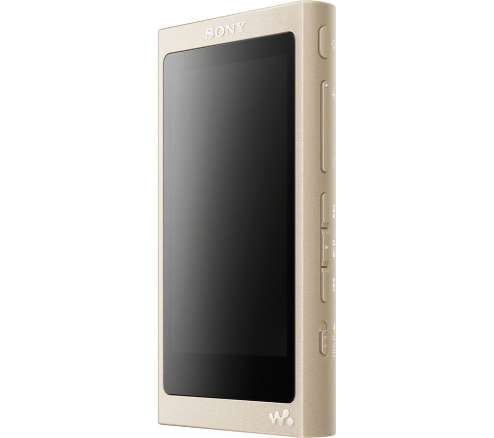Image of SONY NW-A45 MP3 Player with FM Radio - 16 GB, Gold, Gold