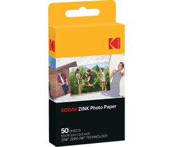 "KODAK Premium Zink 2x3"" Photo Paper - 50 Sheets"