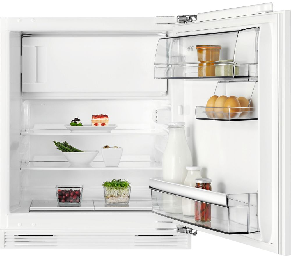 AEG SFB5821VAF Built Under Refrigerator in White