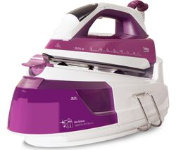 BEKO SteamXtra Smart Station SGA7126P Steam Generator Iron - Purple & White