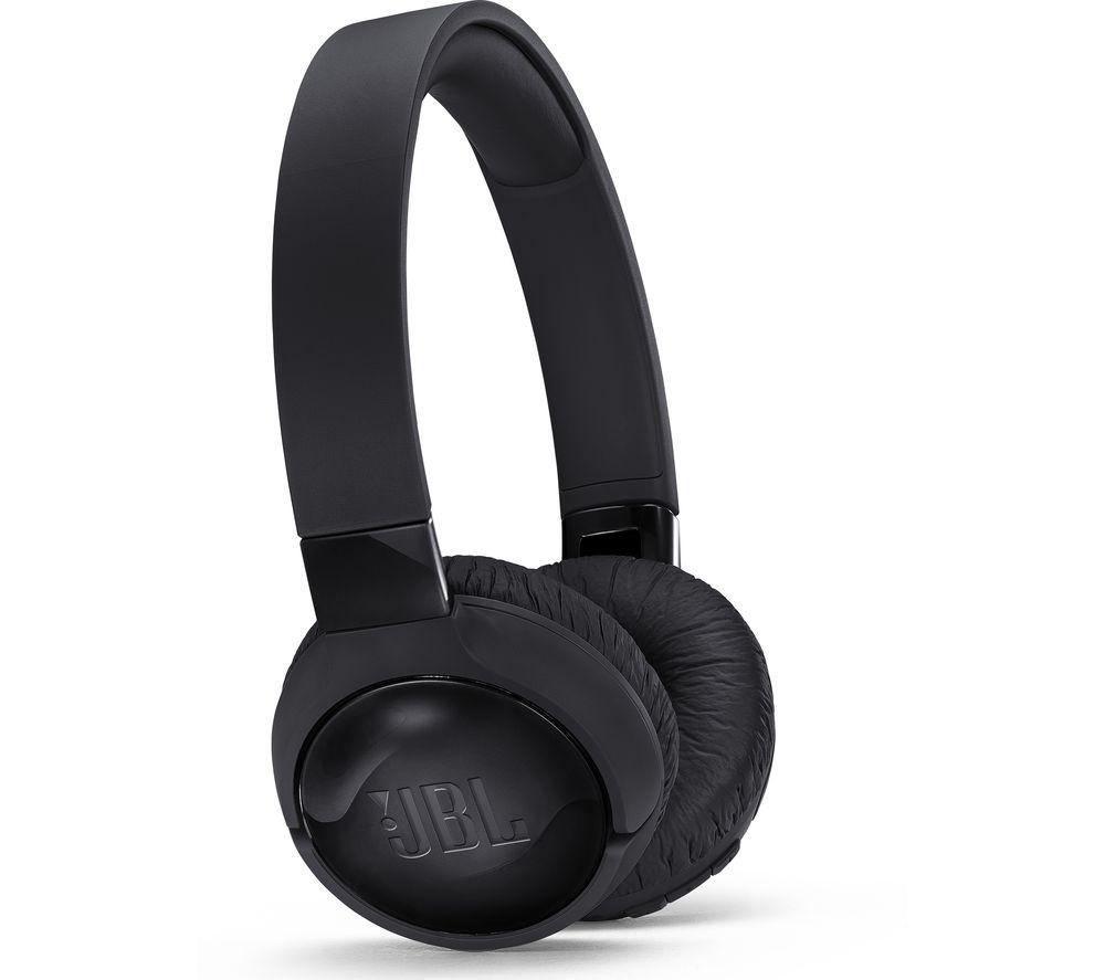 JBL Tune 600BTNC Wireless Bluetooth Noise-Cancelling Headphones - Black