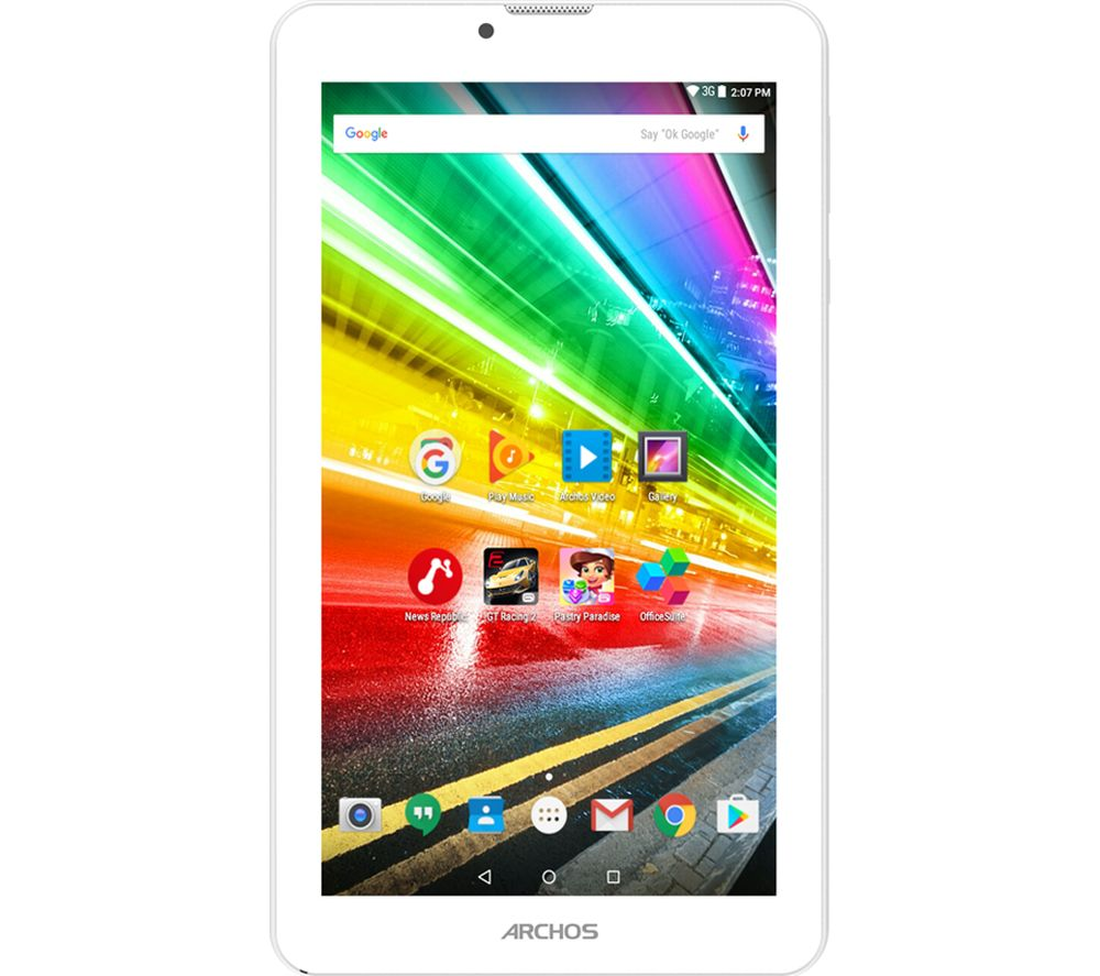 """ARCHOS Access 70 7"""" 3G Tablet - 8 GB, White"""