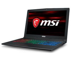"MSI GF62 15.6"" Intel® Core™ i7 GTX 1060 Gaming Laptop - 256 GB SSD"
