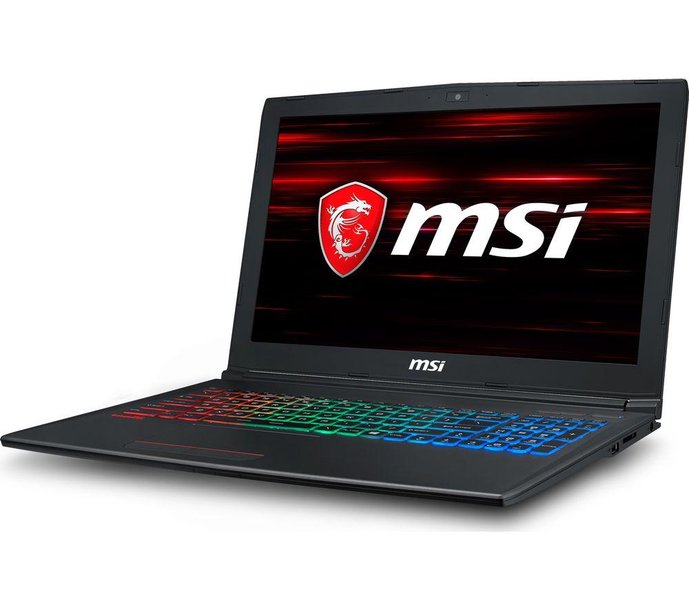 "MSI GF62 15.6"" Intel® Core™ i7 GTX 1060 Gaming Laptop - 256 GB SSD"