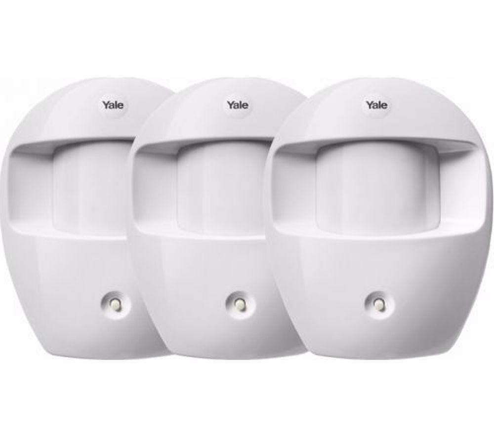 YALE PIR Motion Detectors - Triple Pack