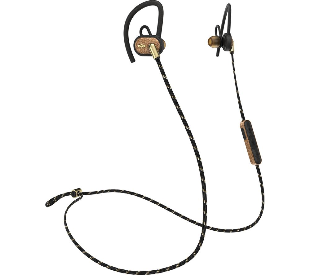 HOUSE OF MARLEY Uprise EM-FE063-BA Wireless Bluetooth Headphones - Brass