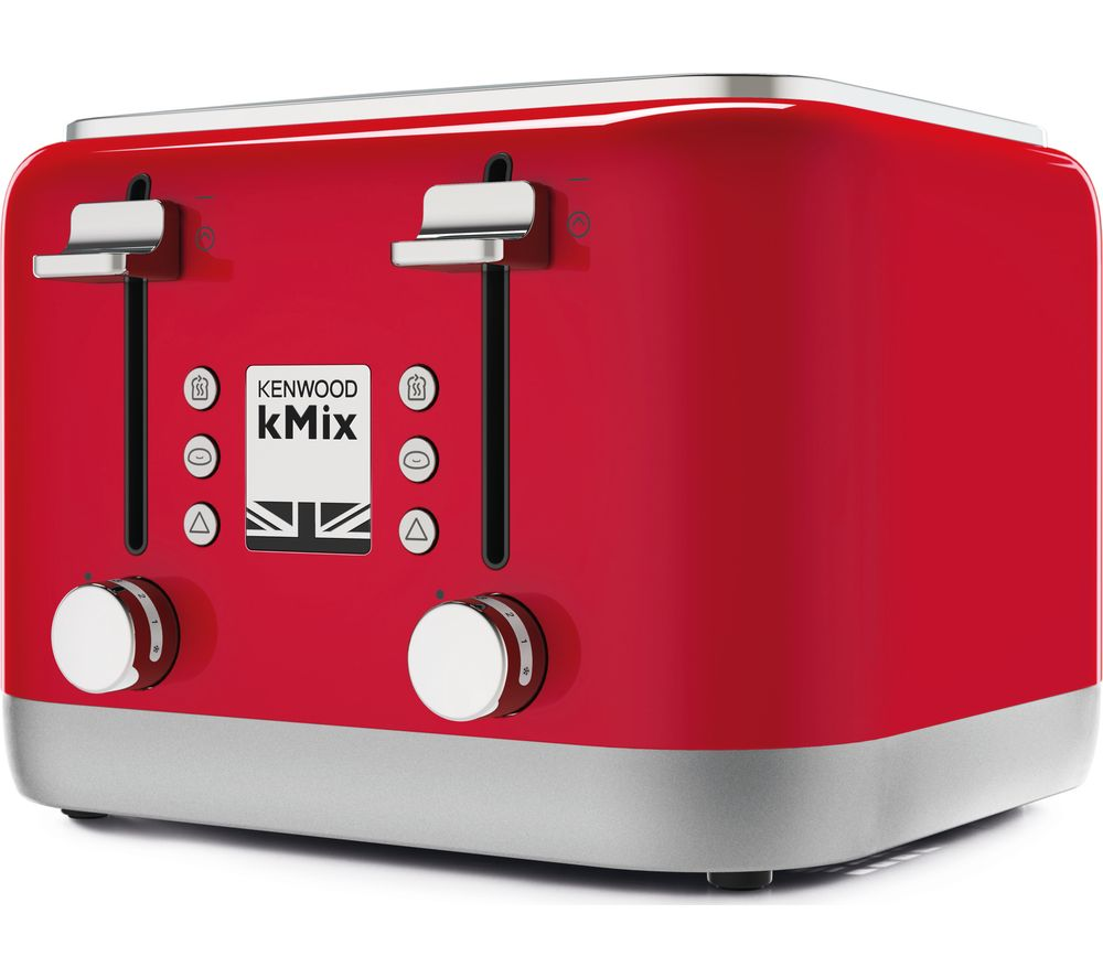 KENWOOD KMIX TFX750RD 4-Slice Toaster - Red