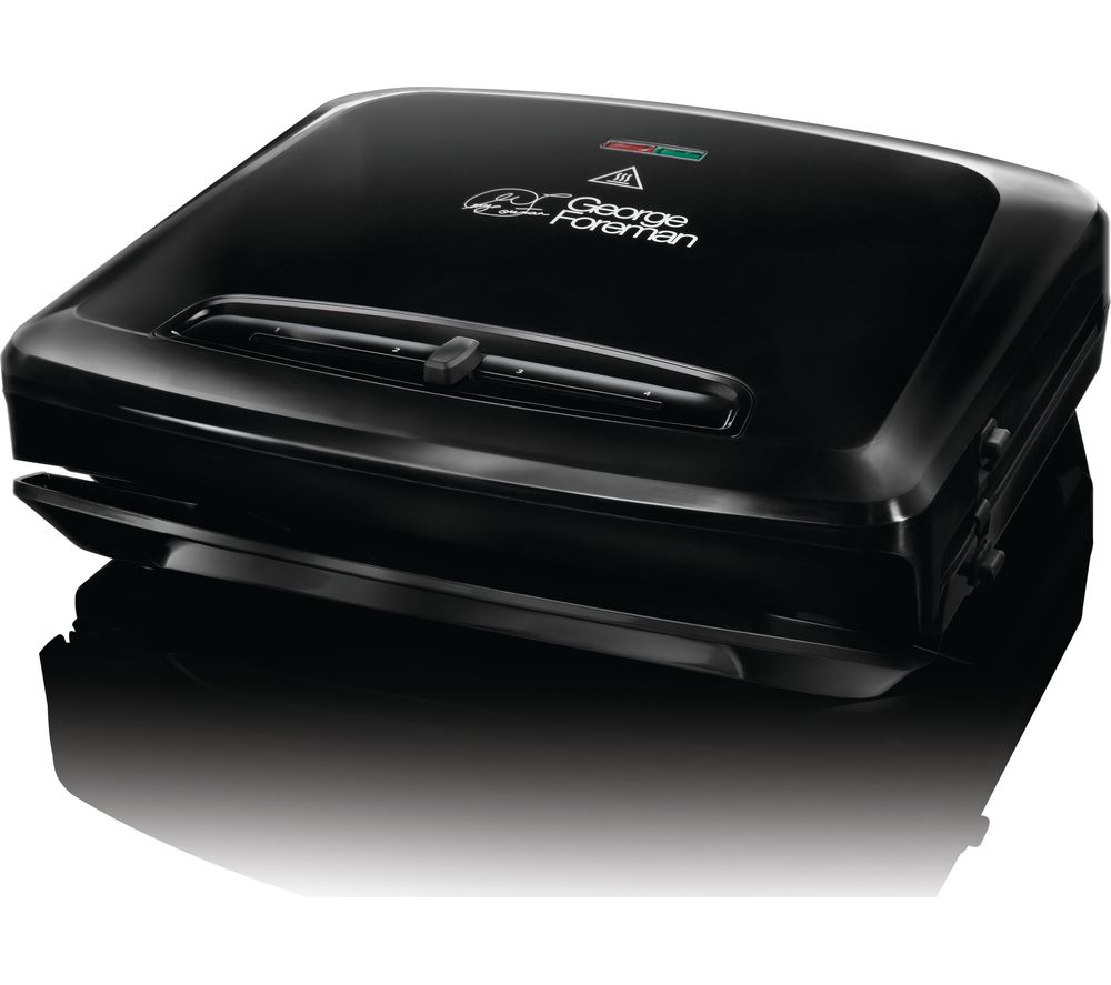 GEORGE FOREMAN 24340 Entertaining Grill - Black, Black