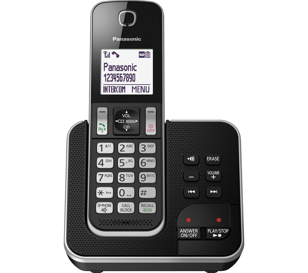 PANASONIC KX-TGD620EB Cordless Phone