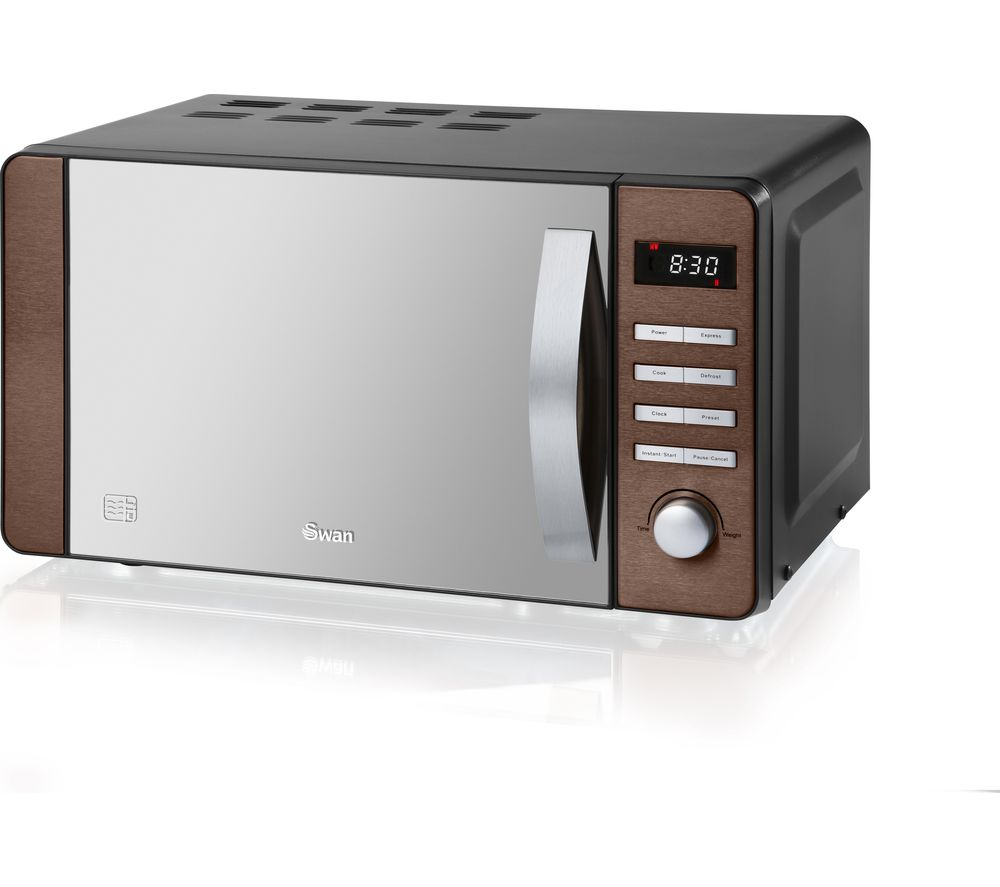 SWAN SM22090COPN Solo Microwave - Copper