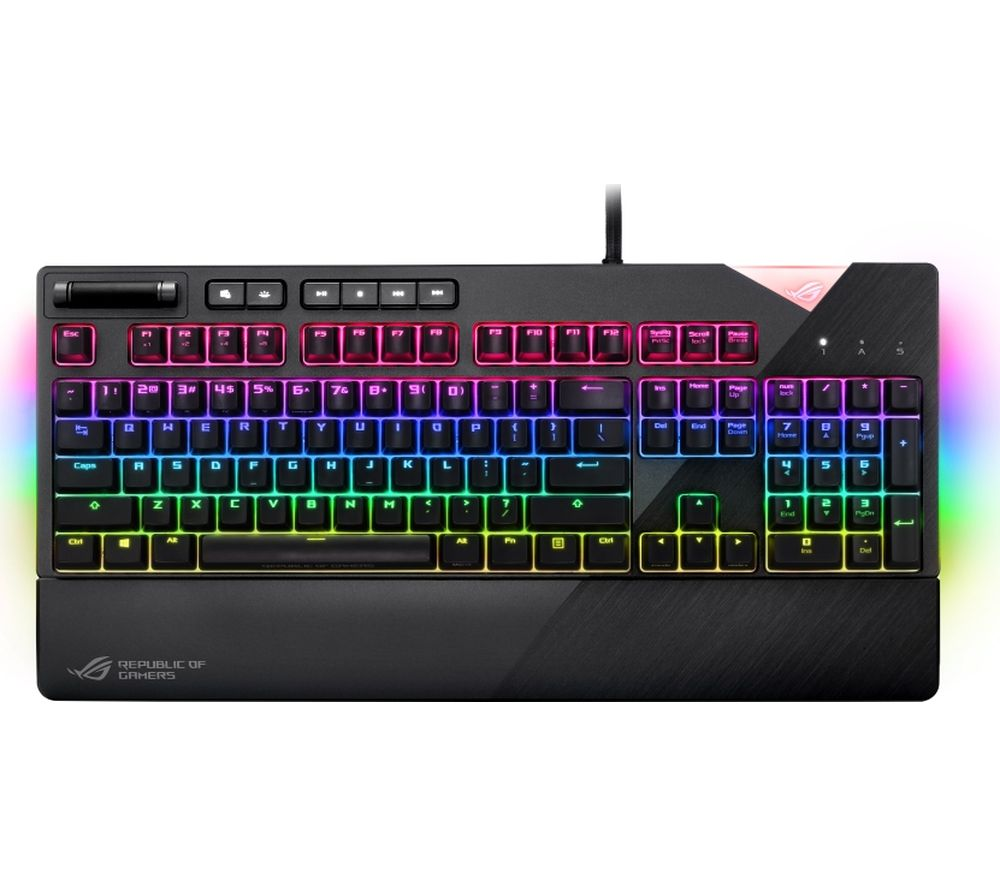 b2987f42930 ASUS ROG Strix Flare Mechanical Gaming Keyboard Fast Delivery | Currysie