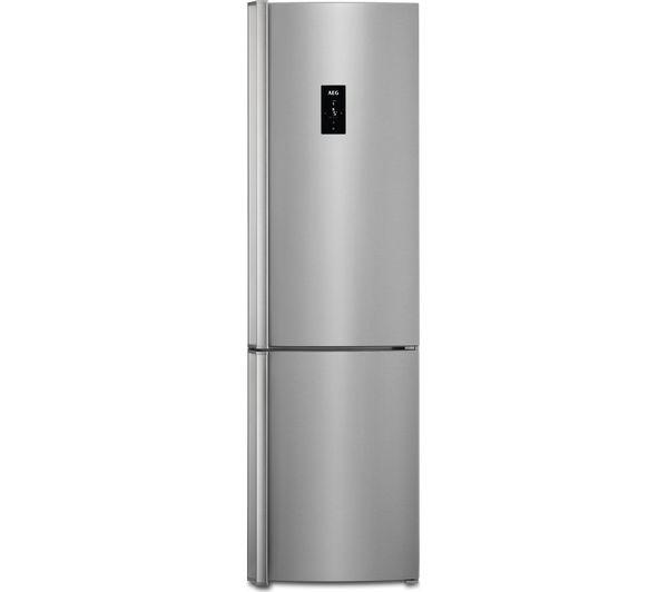 Image of AEG RCB83724VX 60/40 Fridge Freezer - Grey