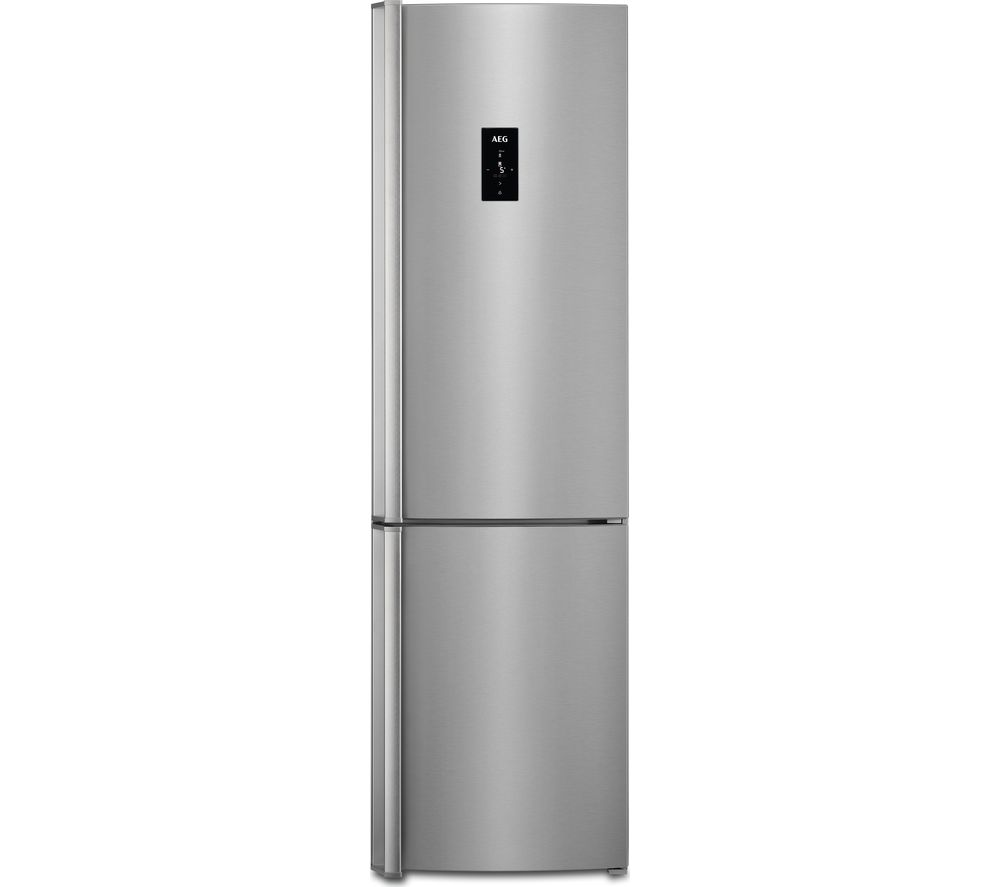 AEG RCB83724VX 60/40 Fridge Freezer - Grey