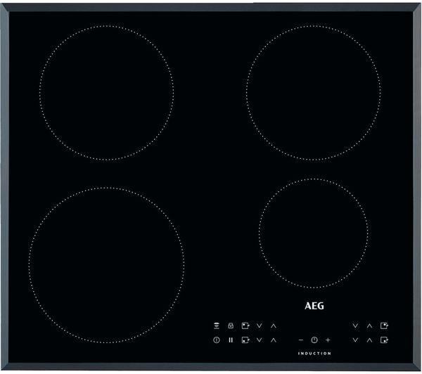 AEG IKB64301FB Electric Induction Hob - Black