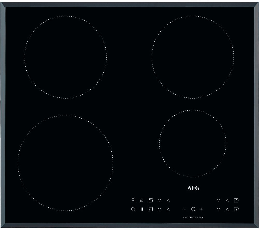 Image of AEG IKB64301FB Electric Induction Hob - Black, Black