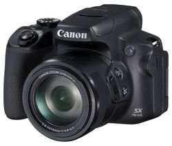 CANON PowerShot SX70 HS Bridge Camera - Black