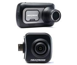 NEXTBASE 522GW Quad HD Dash Cam with Amazon Alexa & NBDVRS2RFCZ Full HD Rear View Dash Cam Bundle