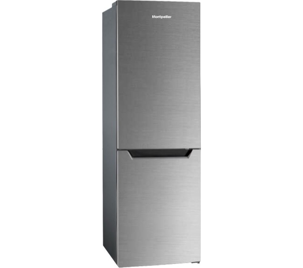 MONTPELLIER MS318MX 60/40 Fridge Freezer - Inox