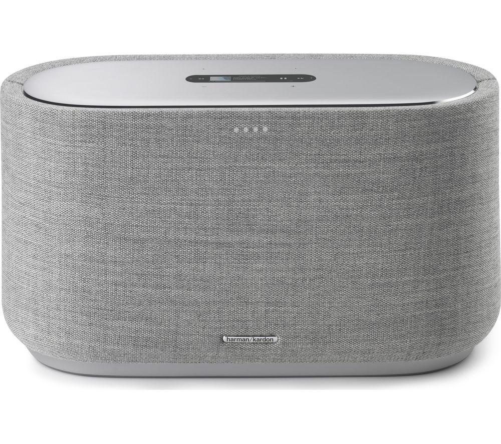 Image of Harman Kardon Citation 500 Bluetooth Multi-room Speaker with Google Assistant - Grey, Grey