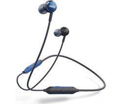 Image of AKG Y100 Wireless Bluetooth Earphones - Blue