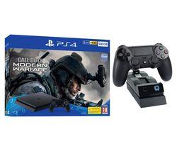 SONY PlayStation 4 with Call of Duty: Modern Warfare & Twin Docking Station Bundle