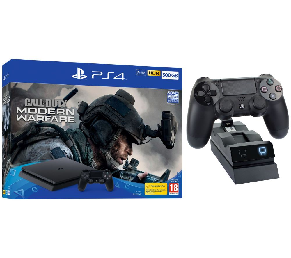 SONY PlayStation 4 with Call of Duty: Modern Warfare & Twin Docking Station Bundle